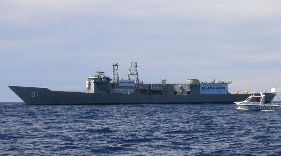 Ex-HMAS Adelaide Dives – Double Boat Dive