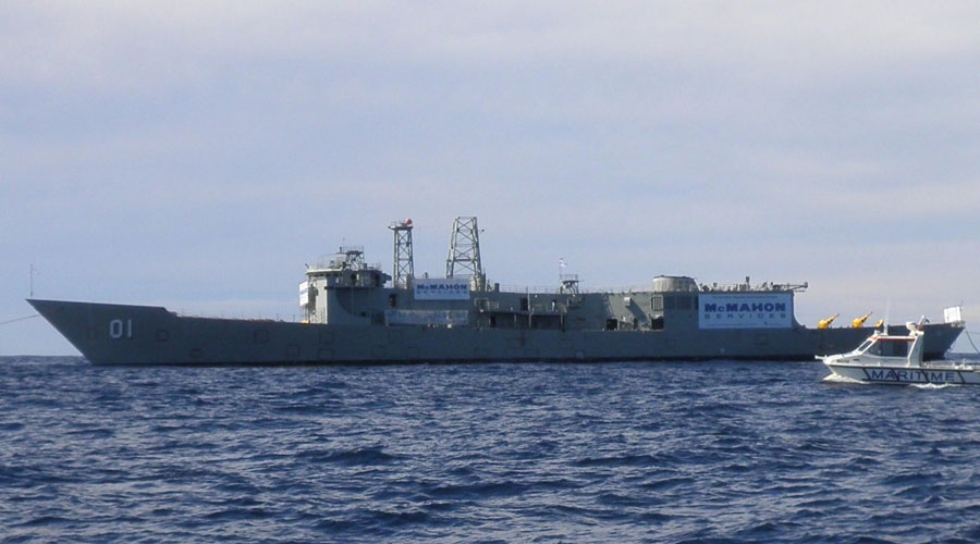 Ex-Navy HMAS Adelaide Dive (Orange)